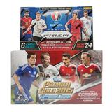 COMBO DEAL - 2016 Panini UEFA Euro Prizm Soccer & 2015 Topps English Premier League Gold Soccer Hobby Boxes