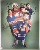 Comic Book Men Autographed Microphone 16x20 Photo