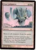 Magic the Gathering Betrayers of Kami Single Final Judgment Foil - SLIGHT PLAY (SP)
