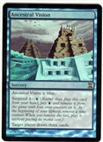 Magic the Gathering Time Spiral Single Ancestral Vision FOIL