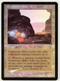 Magic the Gathering Time Spiral Single Gemstone Mine FOIL