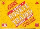1990 Score Traded & Rookies Baseball Factory Set (25 Count Lot)