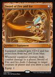 Magic the Gathering Kaladesh Inventions Single Sword of Fire and Ice Foil NEAR MINT (NM)