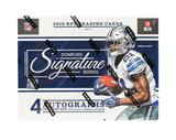 2016 Panini Donruss Signature Series Football 8-Box Case- DACW Live 32 Spot Random Team Break #3