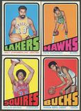 1972/73 Topps Basketball Complete Set (EX)