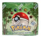Pokemon Jungle 1st Edition Booster Box - EX Box