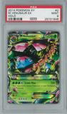 Pokemon XY M Venusaur EX 2/146 Single PSA 9