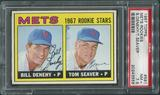 1967 Topps Baseball #581 Tom Seaver Rookie PSA 7.5 (NM+)