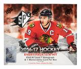 2016/17 Upper Deck SPx Hockey Hobby Box