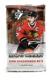 2016/17 Upper Deck SPx Hockey Hobby Pack