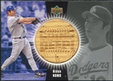 2004 Upper Deck Going Deep Bat #HN Hideo Nomo