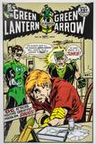 Neal Adams Autographed Green Lantern #85 Lithograph