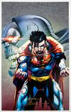 Neal Adams Autographed 11x17 Superman Darkseid Lithograph