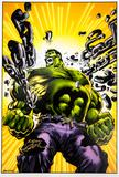 Neal Adams Autographed 11x17 Hulk Lithograph
