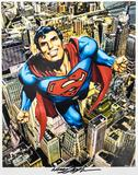 Neal Adams Autographed 11x14 Classic Superman Lithograph