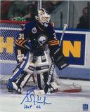 Grant Fuhr Autographed Buffalo Sabres 8x10 Photo