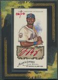 2008 Topps Allen and Ginter #JR Jose Reyes Red Ink Auto #06/10