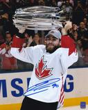Ryan O'Reilly Autographed Team Canada World Cup 8x10 Photo