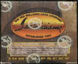 1994 Ted Williams Baseball Jumbo Box