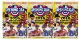 2016 Topps Opening Day Baseball 11-Pack Box (Lot of 3)