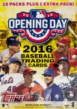 2016 Topps Opening Day Baseball 11-Pack Box