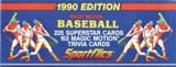 1990 Sportflics Baseball Factory Set