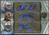 2012 Topps Supreme #STALGW Andrew Luck Robert Griffin III Kendall Wright Triple Rookie Auto #07/10