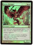 Magic the Gathering Time Spiral Single Serra Avenger Foil