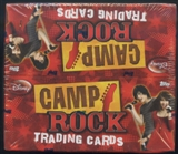 Camp Rock Trading Cards Box (2008 Topps)