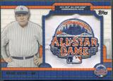 2013 Topps All-Star FanFest #PC4 Babe Ruth Patch #073/150