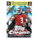 2015 Topps Chrome Football 8-Pack Box