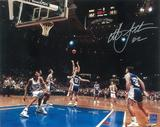 Christian Laettner Autographed Duke 8x10 Courtside Photo