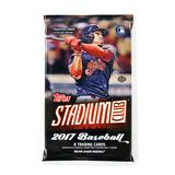 2017 Topps Stadium Club Baseball Hobby Pack