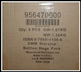 WOTC Star Wars Miniatures Starship Battles Booster Case (6 Ct) 95647