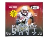 2017 Sage Hit Premier Draft High Football Hobby Box