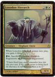 Magic the Gathering Ravnica Single Loxodon Hierarch Foil - SLIGHT PLAY (SP)