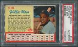 1962 Post Cereal Baseball #142 Willie Mays PSA Authentic