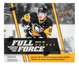 2015/16 Upper Deck Full Force Hockey 20-Pack Box