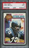 1979 Topps Football #84 Larry Brown PSA 9 (MINT)