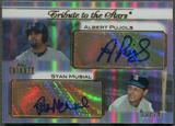 2011 Topps Tribute #PM Albert Pujols & Stan Musial Tribute to the Stars Dual Auto #10/74