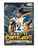 2016 Panini Contenders Draft Picks Football 6-Pack Box