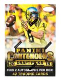 2015 Panini Contenders Draft Picks Football 6-Pack Box