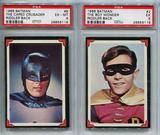 1966 Batman The Caped Crusader #8 and The Boy Wonder #2 PSA Set Riddler Back