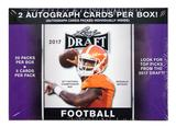 2017 Leaf Draft Football 20-Pack Box (2 Autographs Per Box!)