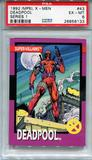 1992 Impel X-Men Series 1 Deadpool #43 PSA 6 *26856133*