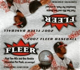2007 Fleer Baseball 36 Pack Box