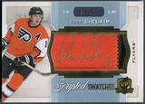 2014/15 The Cup #SWJL John LeClair Scripted Swatches Patch Auto #10/35