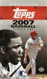2007 Topps Series 1 Baseball Hobby Box