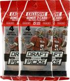 2015 Panini Prizm Collegiate Draft Picks Football Super Pack (Lot of 3)
