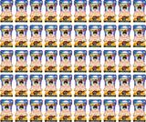 Panini Dragon Ball Z: Movie Collection Blister Booster Pack (Lot of 50)